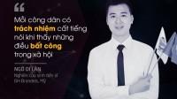 Không chỉ trau dồi, tích lũy kinh nghiệm cho bản thân, những chàng tiến sĩ Việt tương lai cũng mong muốn chia sẻ, phát triển cộng đồng vươn tầm thế...