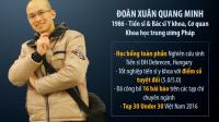 Theo Đoàn Xuân Quang Minh, một trong 30 nhân vật dưới 30 tuổi nổi bật nhất Việt Nam năm 2016 do Forbes bình chọn, không phải tiền mà cơ hội...
