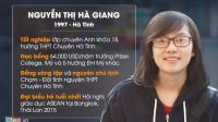 Nguyễn Thị Hà Giang (sinh năm 1997) – cựu học sinh chuyên Anh khóa 18, trường THPT Chuyên Hà Tĩnh – vừa giành học bổng trị giá gần 6 tỷ...