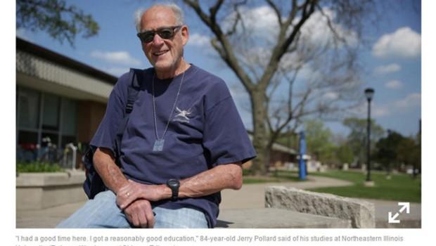 Cụ ông 84 tuổi tốt nghiệp đại học sau 10 năm đèn sách