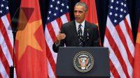 Trong bài phát biểu dài hơn 30 phút trước khoảng 2.000 người tại Trung tâm Hội nghị Quốc gia, Hà Nội vào trưa ngày 24/5, Tổng thống Mỹ Barack Obama...