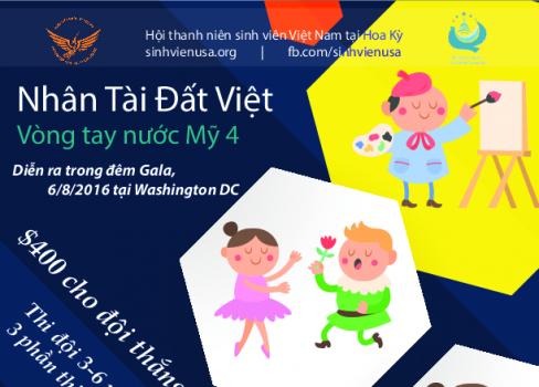 """Đăng ký đội thi """"Nhân tài Đất Việt"""" trong đêm Gala VTNM4"""