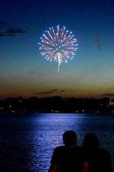PIC01 – BÀI DỰ THI HTNM4: Xem bắn pháo hoa tại Lake Calhoun, Minneapolis, Minnesota…