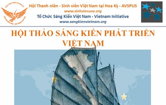 Thông Cáo Báo Chí: Hội Thảo Sáng Kiến Phát Triển Việt Nam