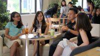 """Đã hoặc đang làm việc với những """"ông lớn"""" ngành công nghiệp kiểm toán, 3 diễn giả trẻ tài năng Mỹ Hạnh, Tiến Đạt, Việt Hương đã chia sẻ """"tất..."""