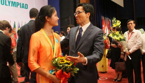Chuyện Cô Gái Mang Vàng Cho Đội Olympic Sinh Học Việt Nam Sau 16 Năm Chờ Đợi