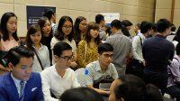 40% trong số khoảng 1.200 ứng viên tham gia ngày hội nghề nghiệp Connect the Dots chiều qua tại Hà Nội là các du học sinh. Chiều 20/8, Hội cựu...