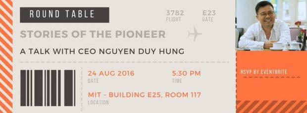 HOT!!! Đối thoại cùng CEO Nguyễn Duy Hưng – Câu Chuyện Người Tiên Phong