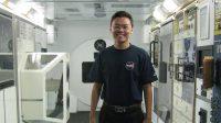 Trương Tuấn Ngọc, sinh viên năm cuối hệ cử nhân ngành Vũ trụ và Hàng không tại trường Đại học Khoa học và Công nghệ Hà Nội (USTH), hiện đang...