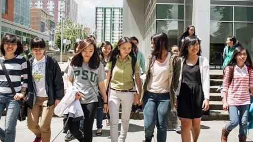 Mỹ là quốc gia được ưa thích nhất để du học