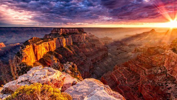 Những địa điểm ngắm hoàng hôn đẹp nhất trên đất Mỹ