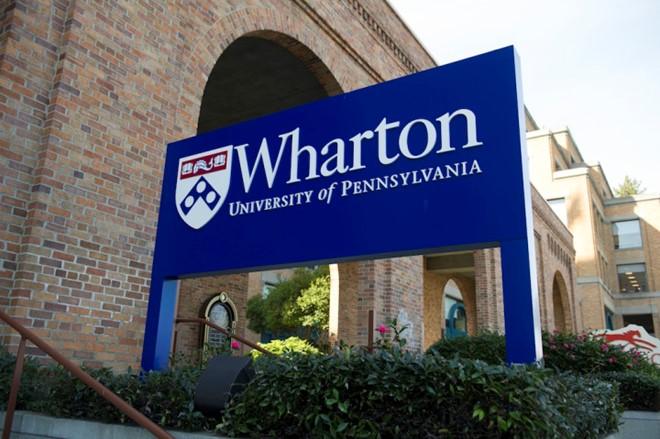 Trường Wharton trực thuộc Đại học Pennsylvania là một trong những cơ sở đào tạo về kinh doanh tốt nhất ở Mỹ. Ảnh: Fortune.