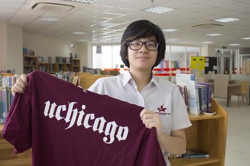 Nữ sinh giành học bổng 270.000 USD từ đại học top 10 thế giới