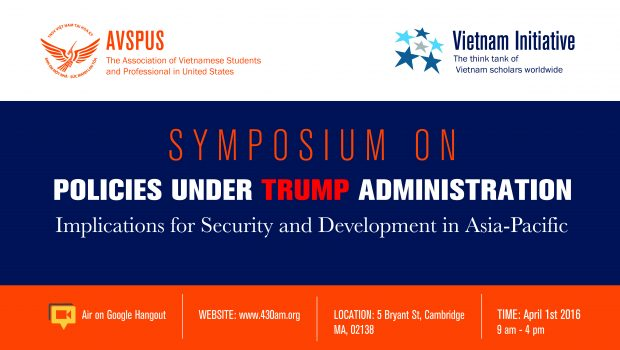 Hội thảo về chính sách của chính quyền Trump đối với Châu Á – Thái Bình Dương