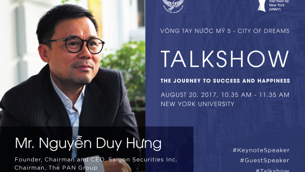 Chương trình Vòng Tay Nước Mỹ 5 diễn ra tại New York do Hội Thanh Niên – Sinh Viên Việt Nam tại Hoa Kỳ tổ chức với sự tham gia...