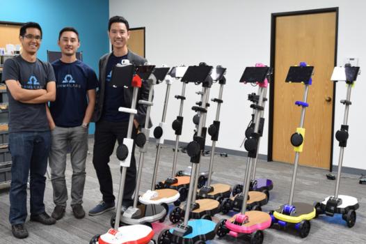 Truyền hình trực tiếp đêm Gala và Career Conference VTNM5 với Ohmni – Robot của startup người Việt