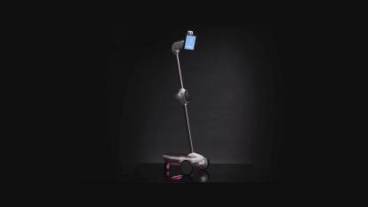 Đôi chút về Ohmni: Ohmni là loại robot gia đình nhỏ gọn với nhiều chức năng tân tiến giúp kết nối cuộc gọi video từ xa, đồng thời, người gọi video có thể điều khiển Ohmni di chuyển thông qua giao diện điều khiển thân thiện trên nhiều nền tảng khác nhau. Trong đêm Gala VTNM5, Ohmni sẽ được đội ngũ kĩ thuật của BTC điều khiển và ghi hình trực tiếp toàn bộ thời lượng của chương trình từ nhiều góc độ quay khác nhau.