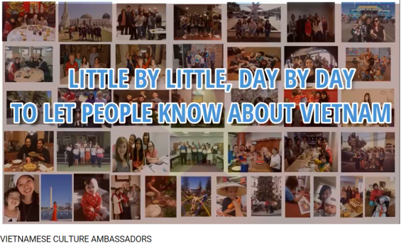 PV-08: Bài dự thi HTNM 5: Vietnamese Culture Ambassadors