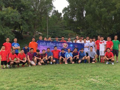 Giải bóng đá TNSV California 2017