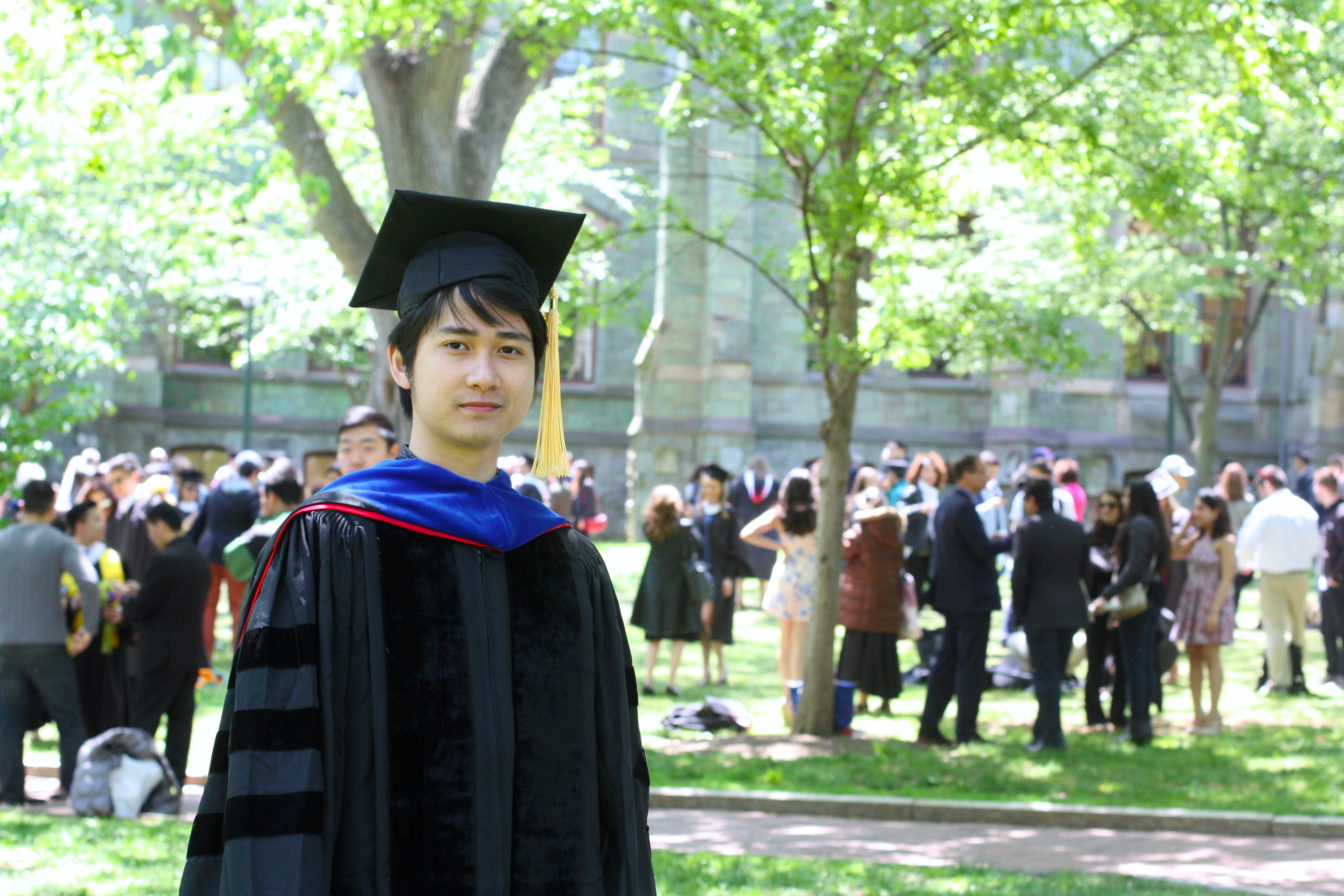 phD Graduation at Penn
