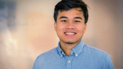 Tiến sĩ người Việt 26 tuổi Lưu Thế Lợi.