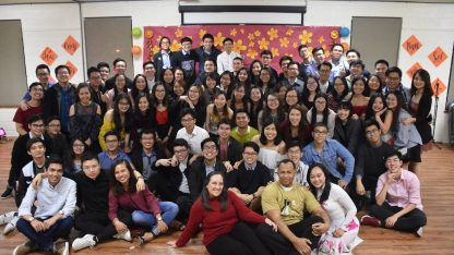 TCU Vietnamese Students at Tet party 2018