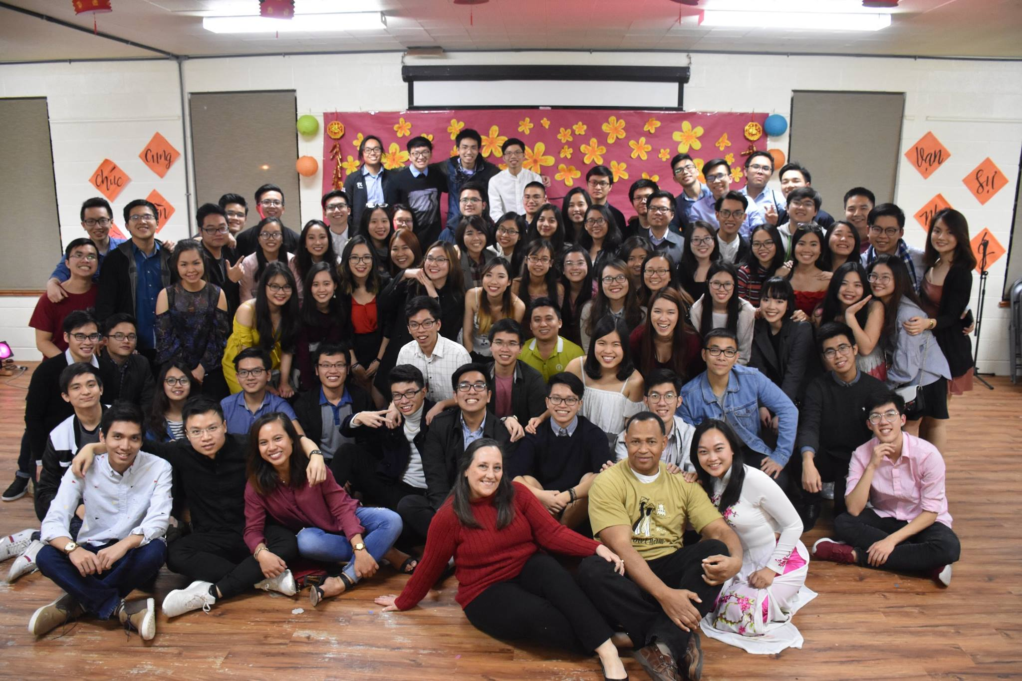 TCU Vietnamese Students at Tet party 2018