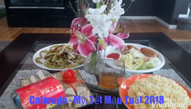"""010: Bài dự thi """"Tết Việt trên đất Mỹ 2018"""" CÔ GÁI ĐƠM XÔI"""
