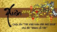 """""""Tết Việt trên đất Mỹ"""" là cuộc thi thường niên do Hội TNSV Việt Nam tại Hoa Kỳ tổ chức nhằm khuyến khích các du học sinh và người Việt..."""