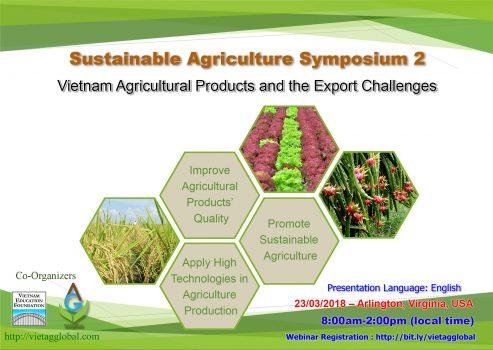 Hội thảo Nông nghiệp bền vững 2: Nâng cao chất lượng nông sản và bài toán xuất khẩu