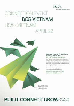 Virtual Connection Event – Boston Consulting Group( BCG) Việt Nam