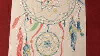 Bài dự thiHành trình nước Mỹ 6–Thể loại Tranh vẽ Tác giả:Anh Nguyen Anh Nguyen Sweet dreams with dreamcatcher