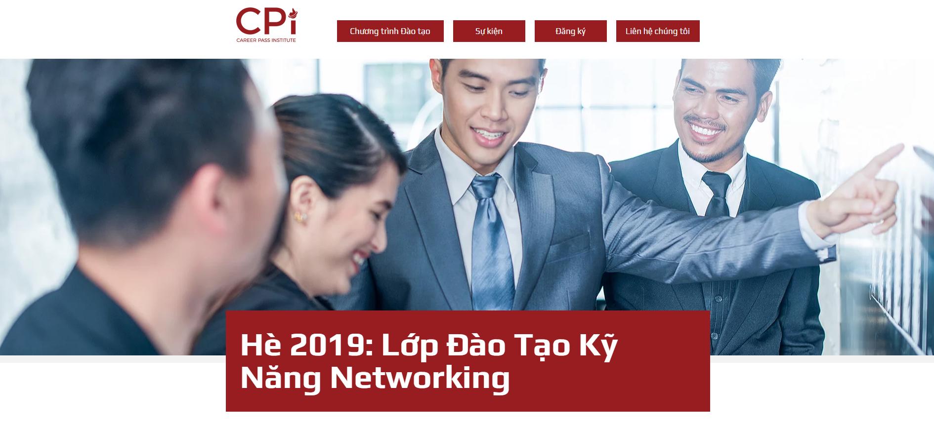 HOT!!! Sự kiện đào tạo Networking và Career Elevator Pitch Challenge tại Việt Nam (6/7 & 28/7) do Career Pass Institute USA tổ chức.