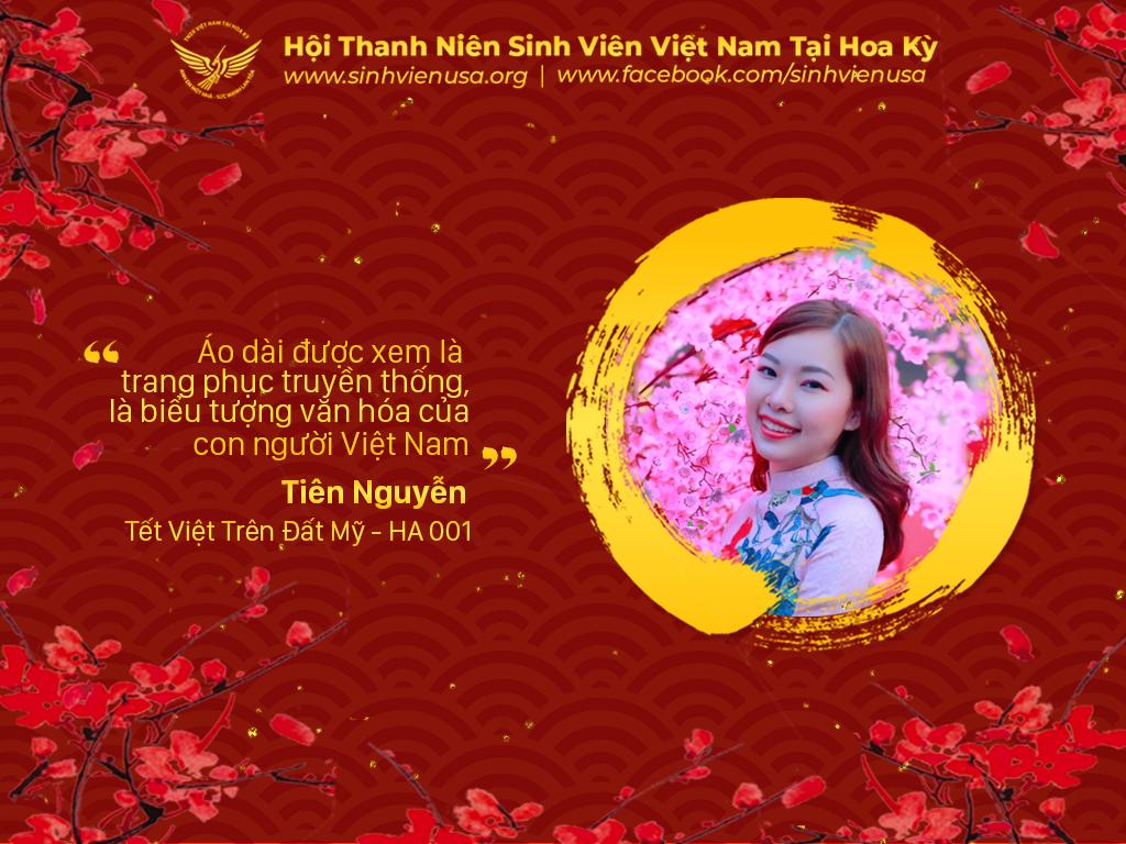 Tết Việt Trên Đất Mỹ – HA001 – Dịu Dàng Áo Dài Ngày Tết