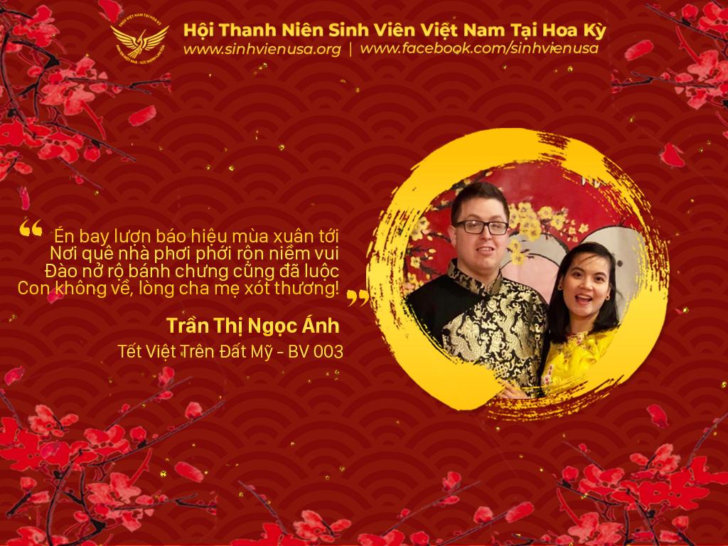 Tết Việt Trên Đất Mỹ – BV003 – Thơ Đón Tết