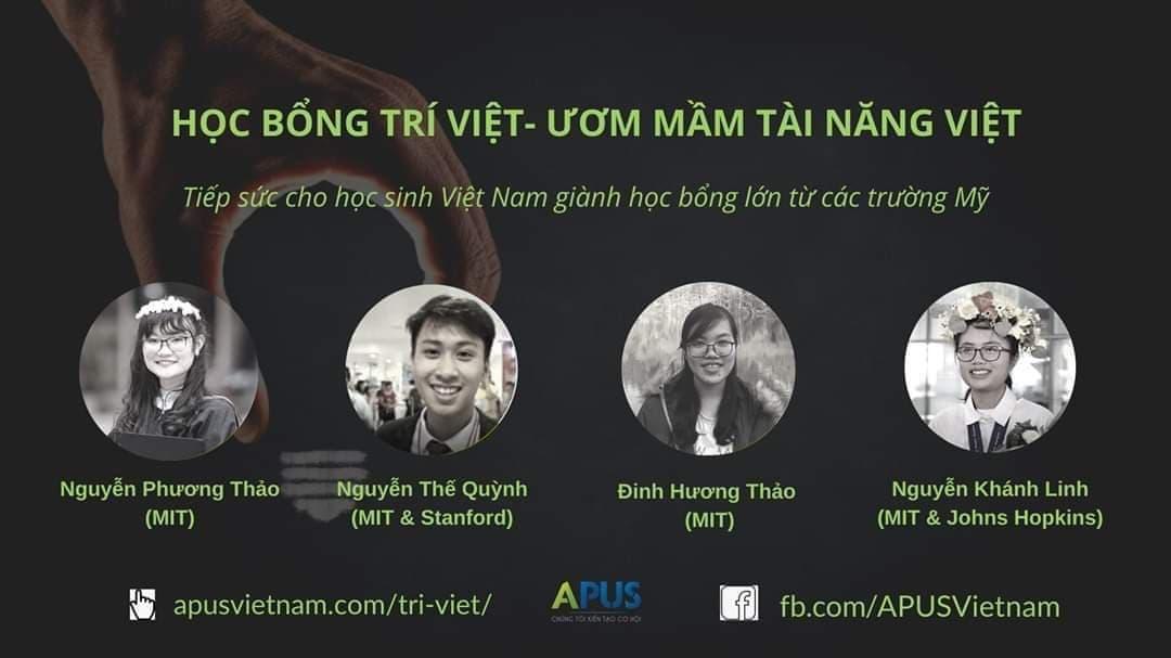 Học bổng Trí Việt – Ươm mầm Tài năng Việt