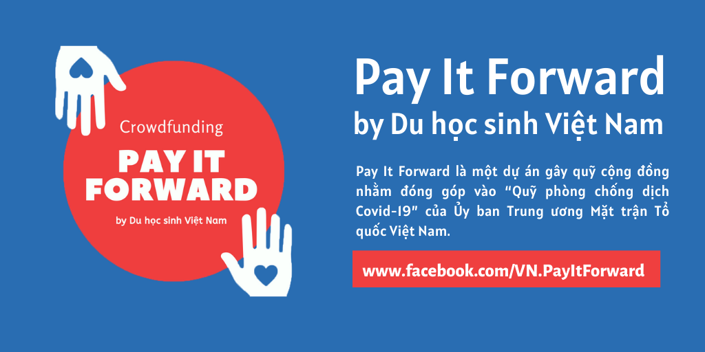 """Pay It Forward by Du Học Sinh Việt Nam"""